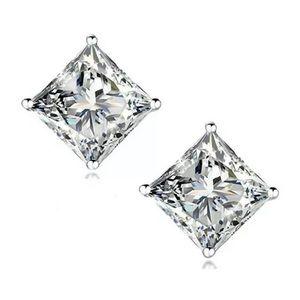Swarovski Crystal Diamond Stud Earrings